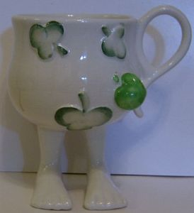 Carlton Ware Lustre Pottery Walking Ware Eve Cup - 1977 - SOLD